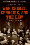 War Crimes  Genocide  and the Law
