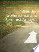 Gender  Governance and Feminist Analysis