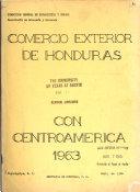 Comercio exterior de Honduras con Centroamérica