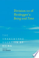 download ebook division iii of heidegger's being and time pdf epub