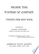Beside the Waters of Comfort  Thoughts from Many Minds Book PDF