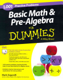 Basic Math and Pre Algebra  Learn and Practice 2 Book Bundle with 1 Year Online Access