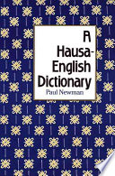 A Hausa English Dictionary book