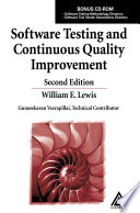 Software Testing and Continuous Quality Improvement  Second Edition