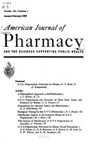 Best The American Journal of Pharmacy