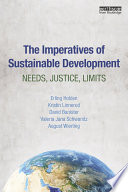 The Imperatives of Sustainable Development