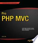 Pro PHP MVC