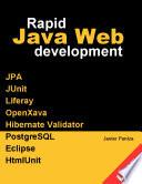 Rapid Java Web Development
