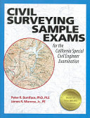 Civil Surveying Sample Exams for the California Special Civil Engineer Examination