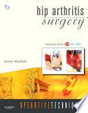 Operative Techniques Hip Arthritis Surgery E Book