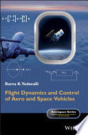Flight Dynamics And Control Of Aero And Space Vehicles