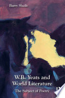 W B  Yeats and World Literature