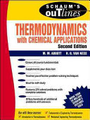 Schaum s Outline of Thermodynamics With Chemical Applications