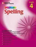 Spectrum Spelling  Grade 4