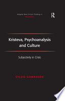 Kristeva  Psychoanalysis and Culture