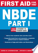 First Aid for the NBDE Part 1  Third Edition