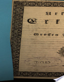 Urkundliche Erklärung des Grossen Raths von Bern