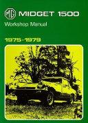 MG Midget 1500cc  1975 1979