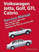 Volkswagen Jetta, Golf, GTI: 1993-1999 Cabrio