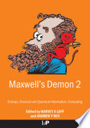 Maxwell s Demon 2 Entropy  Classical and Quantum Information  Computing