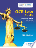 OCR Law for AS Third Edition