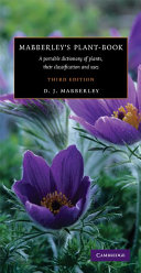 Mabberley's Plant-book Text For Anyone Studying Growing Or Writing About