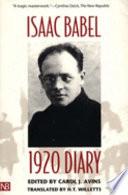 1920 Diary