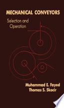 Mechanical Conveyors Book PDF