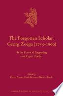 The Forgotten Scholar  Georg Zo  ga  1755 1809