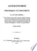 Astronomie théoretique et pratique