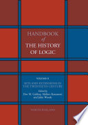 Handbook of the History of Logic  Sets and extensions in the twentieth century