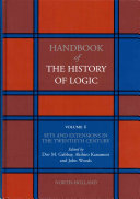Handbook of the History of Logic: Sets and extensions in the twentieth century