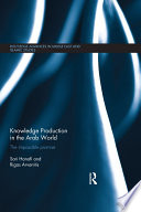 Knowledge Production in the Arab World