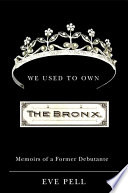 We Used To Own The Bronx book