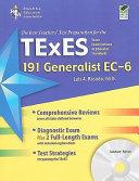TExES 191 Generalist EC 6  191