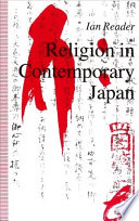 Religion In Contemporary Japan book