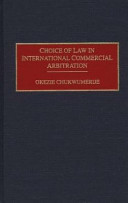 Choice of Law in International Commercial Arbitration