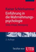 Einf  hrung in die Wahrnehmungspsychologie