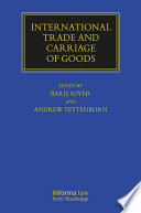 International Trade and Carriage of Goods