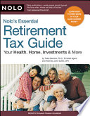 Nolo s Essential Retirement Tax Guide