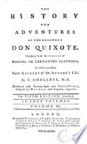 The History and Adventures of the Renowned Don Quixote 4