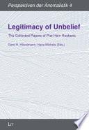 Legitimacy Of Unbelief