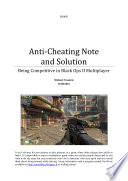 Anti-Cheating Note and Solution
