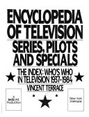 Encyclopedia of Television  The index