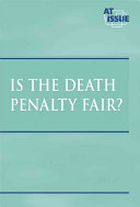 Is the death penalty fair