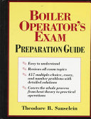 Boiler Operator s Exam Preparation Guide