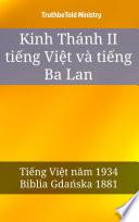 Kinh Thánh II tiếng Việt và tiếng Ba Lan