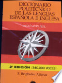 Diccionario polit  cnico de las lenguas espa  ola e inglesa