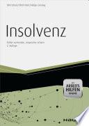 Insolvenz - mit Arbeitshilfen online
