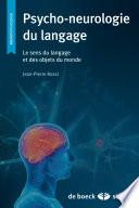 illustration Psycho-neurologie du langage